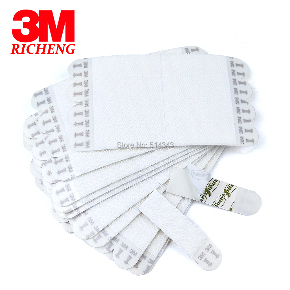 48pcs Large 3M Command Picture Hanging Strips Command Inter Locking Faster for Home Decor image