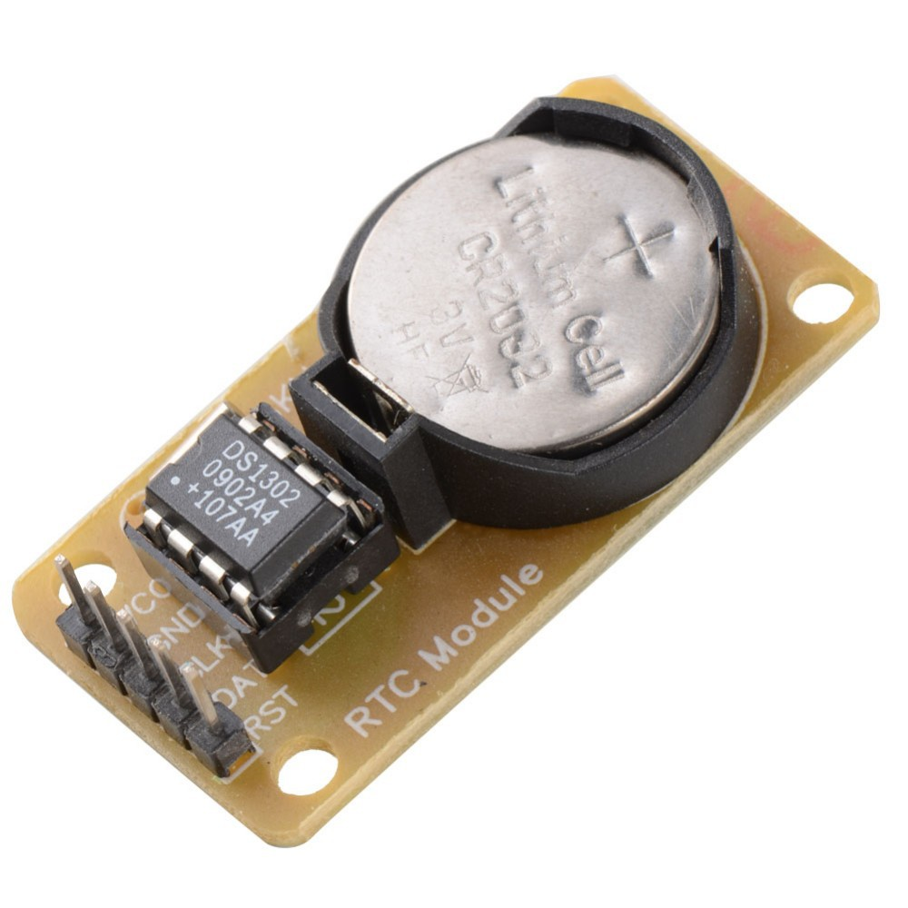 Hot Sale Smart Electronics <font><b>DS1302</b></font> Real Time <font><b>Clock</b></font> ModuleWith CR2032 for arduino UNO MEGA Development Board Diy Starter Kit image