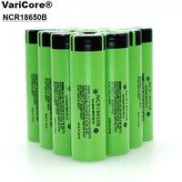 10PCS Lot NCR18650B 18650 3400mAh Li Ion Rechargeable Battery Large Capacity 100 Original Battery Free Shipping