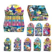 Tomy Pokemon 33 шт. GX EX MEGA чехол флэш-карта 3D версия Меч Щит солнце и луна карта коллекционный Подарок детская игрушка