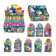 Tomy Pokemon 33PCS GX EX MEGA Cover Flash Card 3D Version SWORD SHIELD SUN&MOON Card Collectible Gift Children Toy(China)