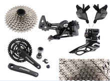Made In China ultegra bicycles group 10 speed 30 speed mtb groupset mountainbike groupset bicycle parts lot 9pcs(China)