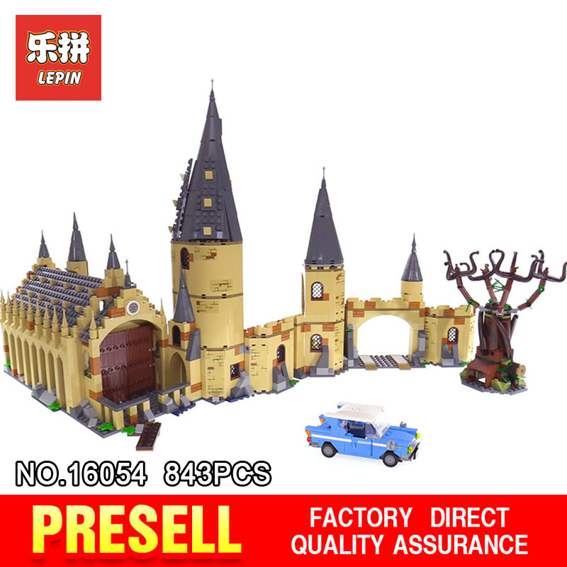 2018 New Lepin 16054 Blocks Bricks Hogwarts Whomping Willow Compatible With 75953 Building Educational Toys Birthday DIY Gifts shirly new rest stop dream house building blocks compatible with lego bricks girl s educational toys birthday christmas gifts