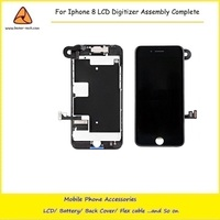 5PCS LOT High Quality For IPhone 8 4 7 LCD 3D Touch Screen Digitizer Assembly Complete