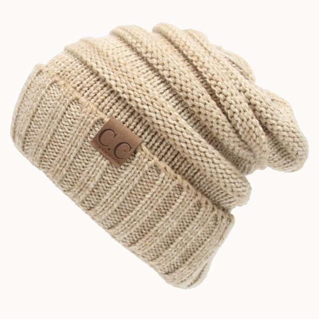 Unisex woolen winter beanie hat (different colours)
