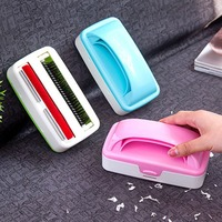 1Pcs Static Brush Clothes Double Rollers Magic Lint Dust Brush Hair Remover Cloth Dry Cleaning With
