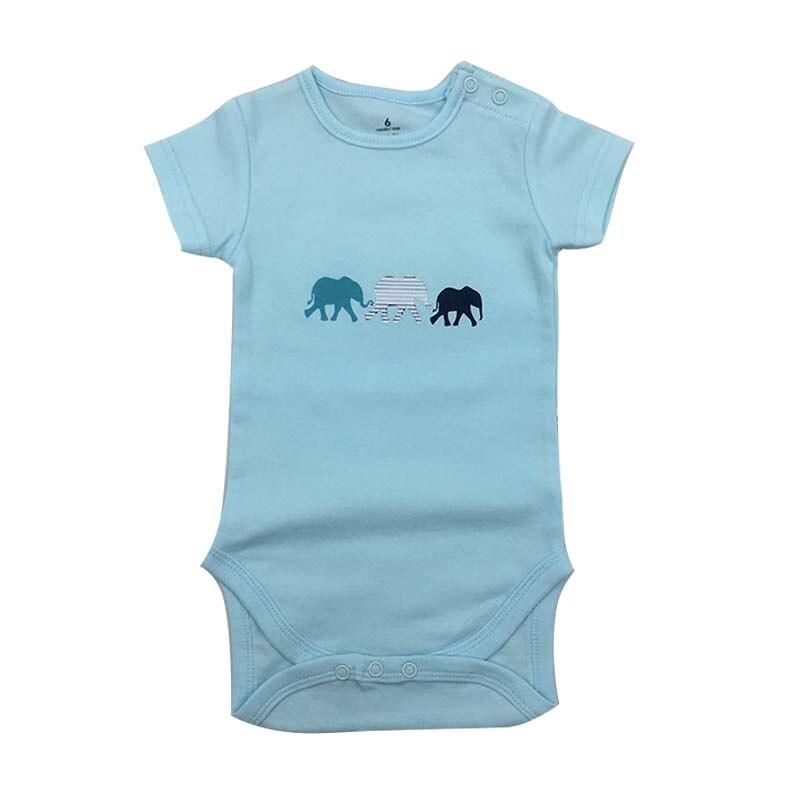 Bodysuit Moda bebê 1 peças/lote Recém-nascidos Do Corpo Do Bebê de Manga Curta Macacão Infantil Macacão Menina Menino miúdo roupas