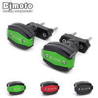 BJMOTO Hot Sale Motorcycle Accessories Left and Right Frame Sliders Crash Protector For Kawasaki Z750 2007 2012 Z750R 2011 2012