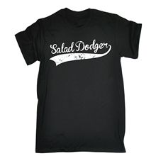 Salad Dodger MENS T-SHIRT Tee funny birthday gift joke no diet humour present T-Shirt Men Short Sleeve T Shirt