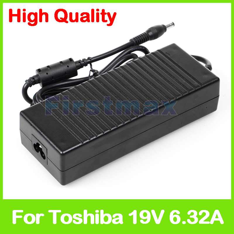 19V 6.3A 120W AC laptop adapter power supply for Toshiba Satellite P300 P305D P35 P500 P505D P70 P75 P770D P775 charger 45w 19v ac power adapter charger for toshiba satellite c55 a5281 new genuine []