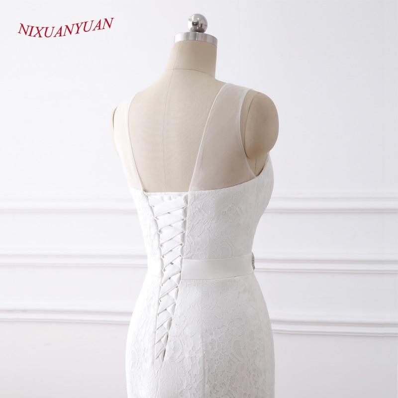 NIXUANYUAN 2018 Νέες Κομψές Εφαρμογές O - Γαμήλια φορέματα - Φωτογραφία 6