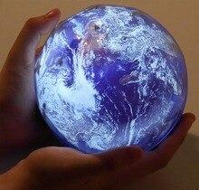 USB AA مصباح led يعمل بالبطارية ضوء الليل السماء المرصعة بالنجوم الأرض تدوير العارض مصباح الجدة الطفل ضوء ملون لهدية السنة الجديدة