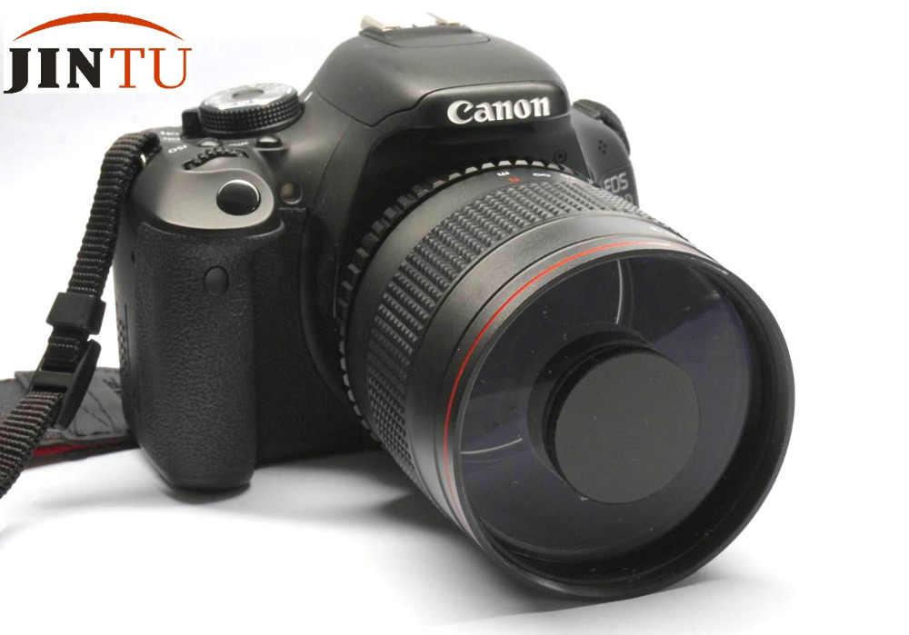 900mm f8 Super MIRROR TELEPHOTO Manual Focus LENS Fixed Circular For Canon  EOS SLR DSLR 5D MARK III 7D II 70D 60D 50D
