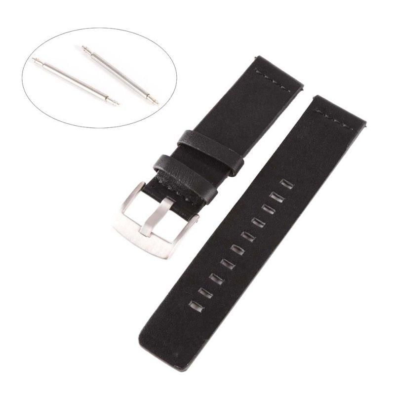 18mm 20mm 22mm mm 24mm Genuine leather Band Strap For Motorola Moto 360 2nd Gen Smart Watch Women Man motorola smart