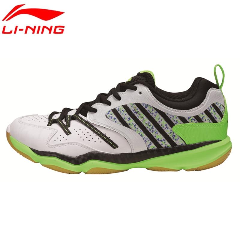 Original New Li-Ning Mens Badminton Shoes Breathable Athletic Sneaker Anti-Slippery Sports Shoe Li Ning Genuine AYTM081 L719