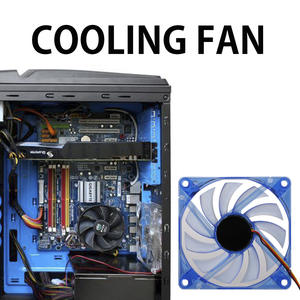 80mm 2 Pin Connector Cooling Fan for Computer Case CPU Cooler Radiator High