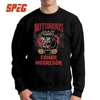 Conor Mcgregor Tattoo Men Pullovers Cotton Novelty Sweatshirts Crewneck Tops Warm Hoodies