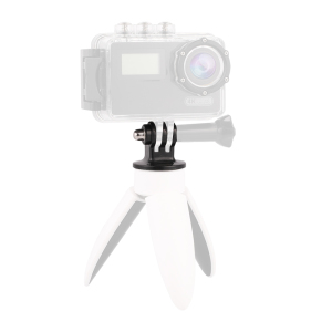 Image 4 - Kaliou Go pro Accessories Tripod Mount Adapter for Go pro 7 6 5 4 3+ 3 2 1 SJ4000 Sj5000 Tripod Monopod Selfie Stick