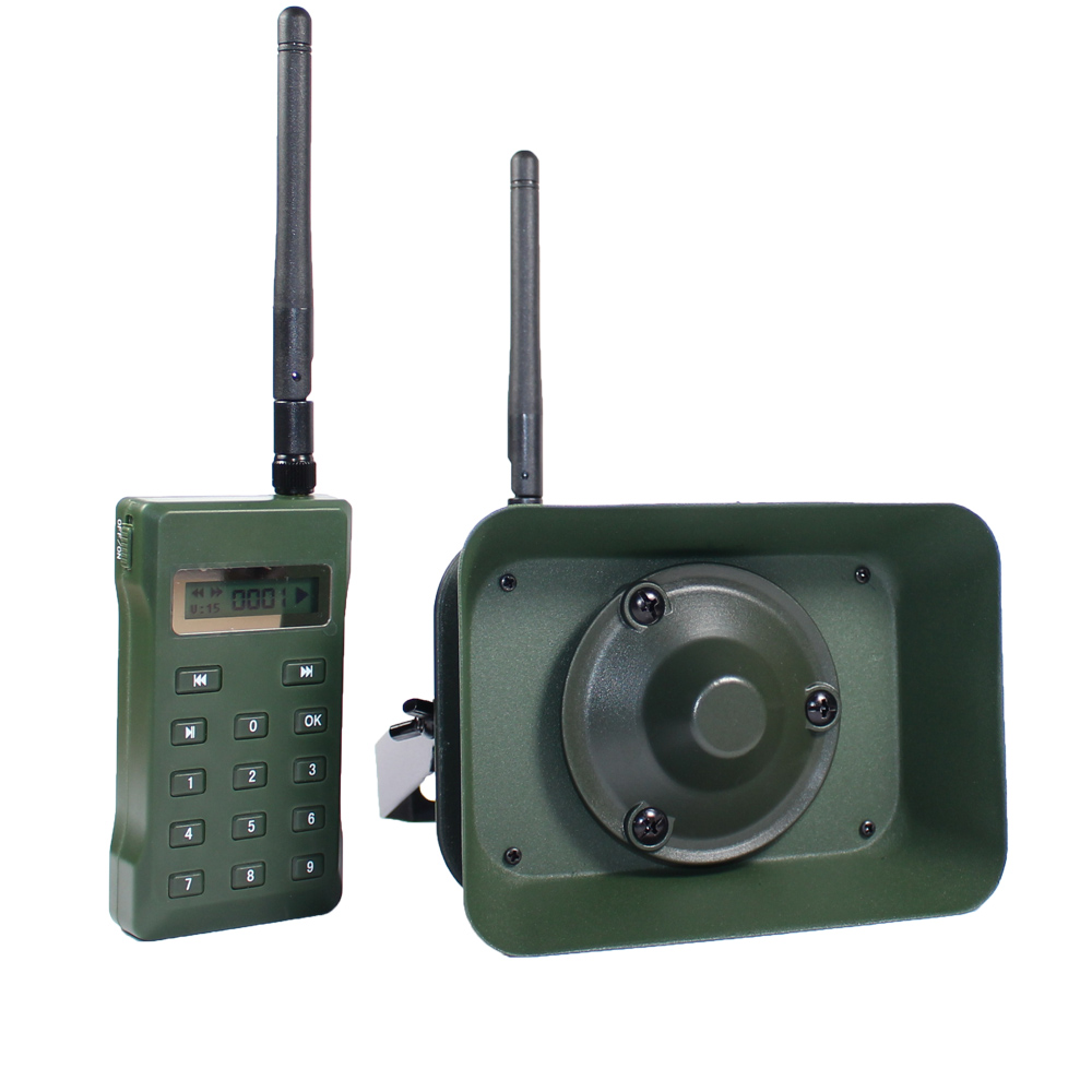 Hunting Bird Caller BK1523RT with Remote Cotrol mp3 Bird Sounds Player Loud Speaker 60W Duck Hunting Decoy wholesale denmark outdoor hunting decoy 50w decoy loud speaker bird caller hunting bird mp3 with 210 bird sounds