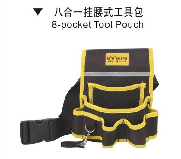 BESTIR taiwan fait oxford matériau complexe PVC 600D simple Professionnel sac à outils de taille NO 05156 dans Armoires à outils de Outils