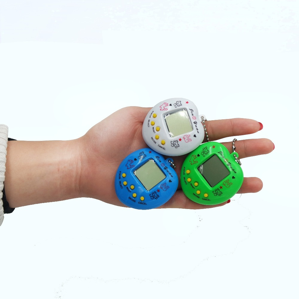 Funny Tamagochi Pet Virtual Digital Game Machine Nostalgic 168 pet in 1 Virtual Cyber Electronic Pet Brinquedos For Gifts