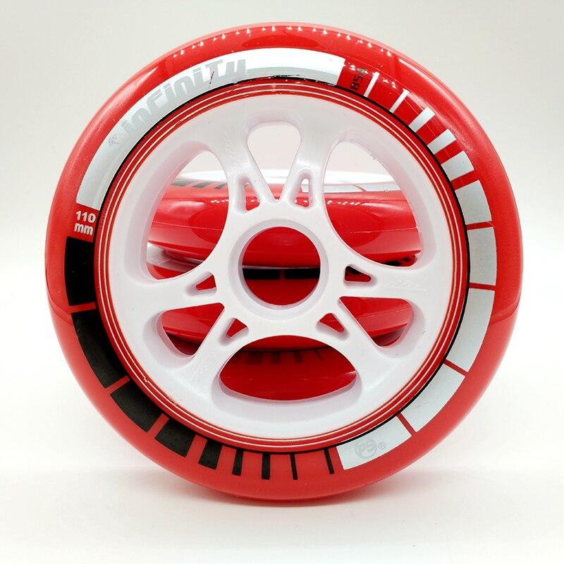 Prix pour Livraison gratuite vitesse de roue 110mm 85 Un rouge 6 pièces/lot