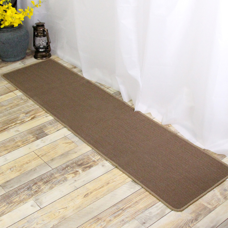 Lungo marrone tappeti tappeti da cucina cucina bagno zerbino ...