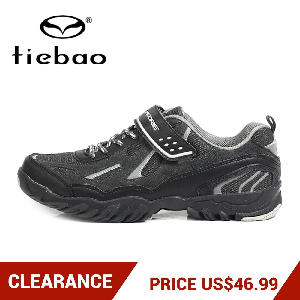 Clearance! TIEBAO Road Racing MTB Shoes PVC Soles Mountain Bike Shoes Nylon-fibreglass Cycling Shoes For Men Triatlon CiclismoClearance! TIEBAO Road Racing MTB Shoes PVC Soles Mountain Bike Shoes Nylon-fibreglass Cycling Shoes For Men Triatlon Ciclismo