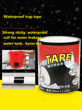 10cmx1.5m Strong Waterproof Tape Super Adhesive Tape Repair Leakage Supply Band Flex Strong Water Pipe Sealing Tapes Home Tools