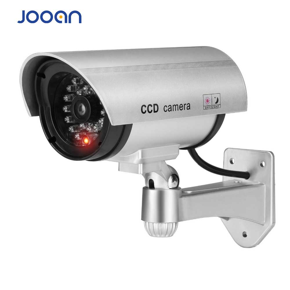 JOOAN Indoor/outdoor Surveillance Dummy  Led Wireless Fake Dome Camera Home CCTV Security Camera Simulated Video Surveillance