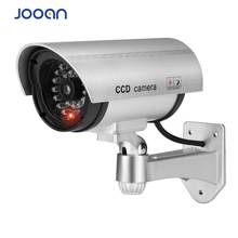 JOOAN indoor/outdoor Surveillance Dummy  Led Wireless Fake dome camera home CCTV Security Camera Simulated video