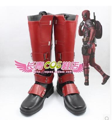 Deadpool Wade Wilson Cosplay Boots shoes anime Halloween Christmas