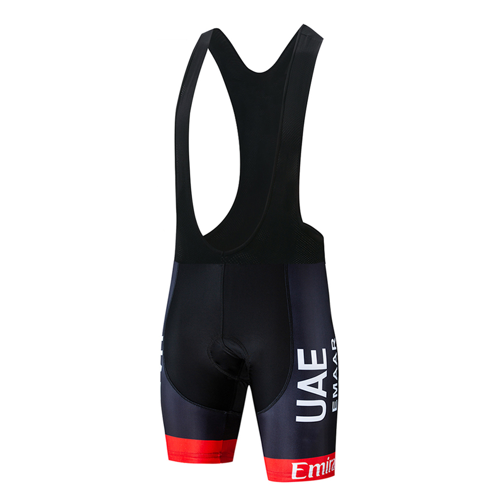 UAE 2019 Pro Cycling Shorts Ropa Ciclismo Hombre Team Summer Cycling Clothing Quick-Dry Short Sleeve Bicycle Pro Maillot