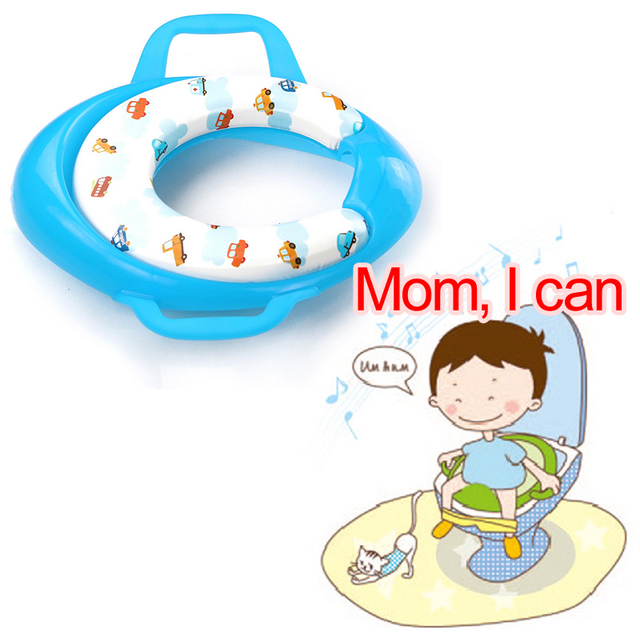 Lovely Baby's Potty Chair 2-in-1 Seat Kids Comfortable Safety Portable PP Toilet Assistant Multi-function Eco-friendly Stool