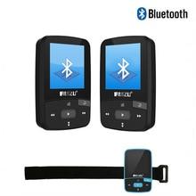 Original RUIZU X50 Mini Sport Clip Bluetooth reproductor de mp3 8 GB reproductor de música Soporte de Tarjeta TF, Radio FM, Grabadora de Voz + Brazalete Libre