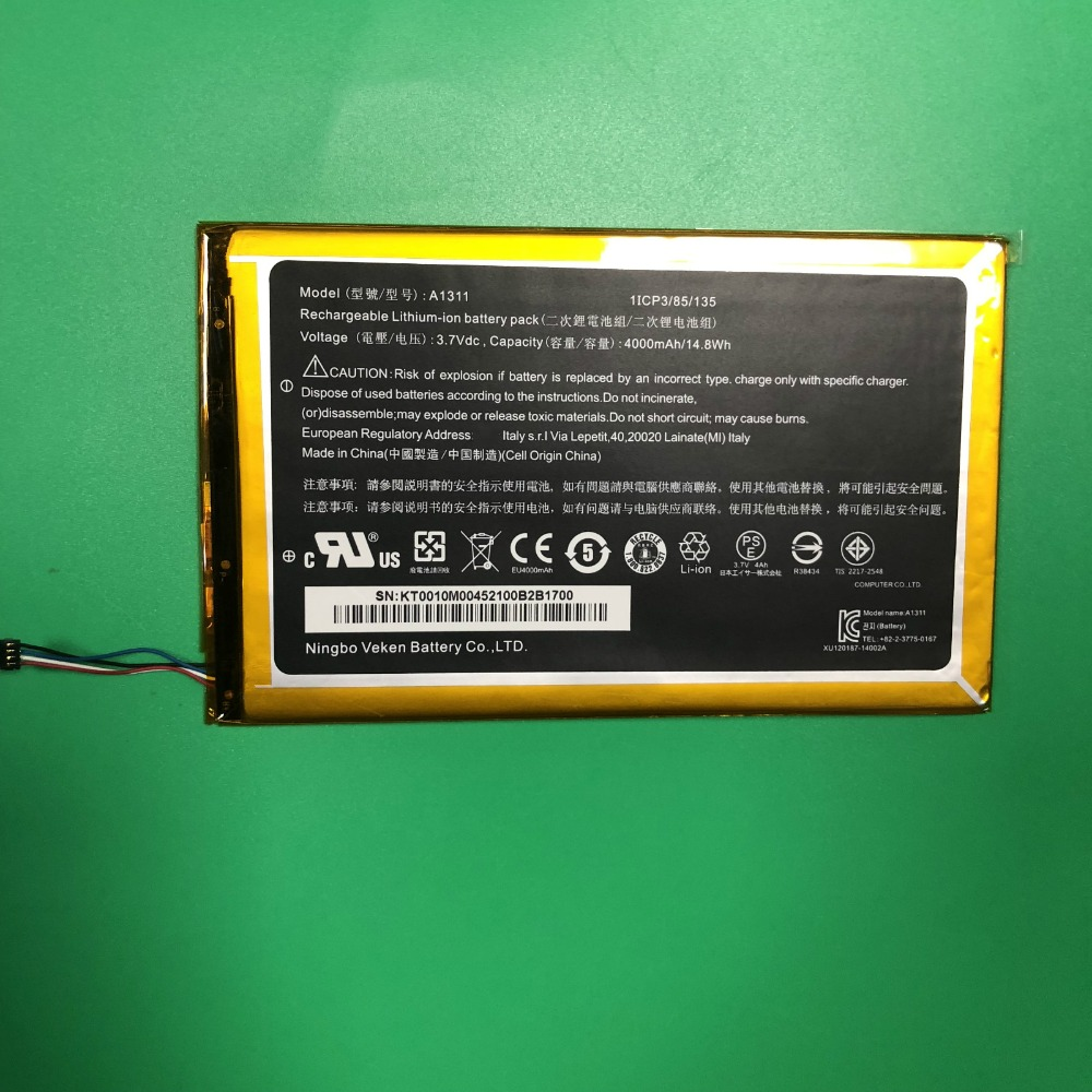 100% New Phone Battery For Acer A1311 Lconia Tab A1-830 4300mah Batteries Relieving Heat And Sunstroke Mobile Phone Batteries