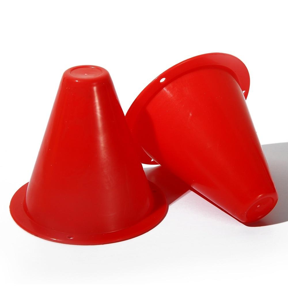 20 шт./лот красочные скейт куча чашки Ветрозащитный роллеров конический ловкость обучение Маркер слалом скейтборд маркировки конусы wyq