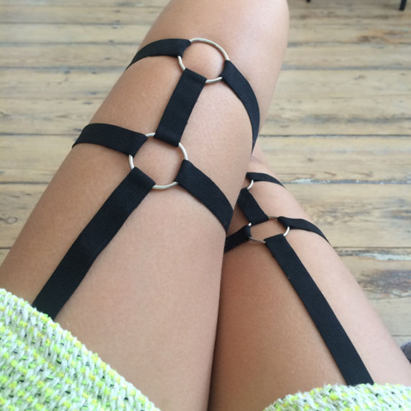 Elastic Garters | Full Body Women Harness | Erotic Accessory