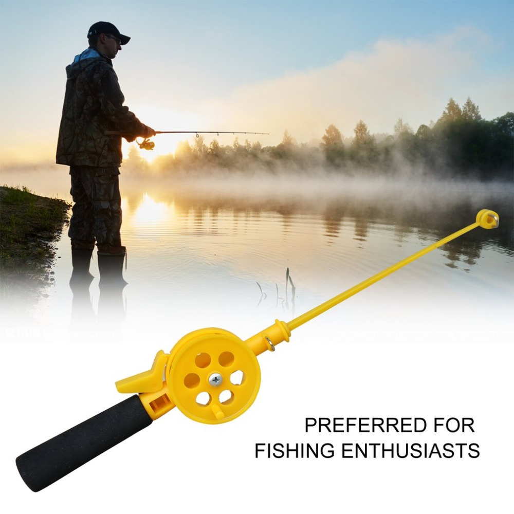 Children Fishing Rod Winter Ice Fishing Pole Durable Universal Fish Tackle Pole Professional Fish Accessories