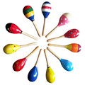 Cute Colorful Baby Toy Sand Hammer Kids Sound Music Gift Toddler Rattle Musical WoodenToys Musical Instrument Percussion