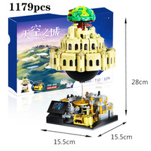 2019 New 05001Genuine Creative MOC Series In The Sky Set Educational Compatible legoergy City Building Blocks Bricks Model Gift цены