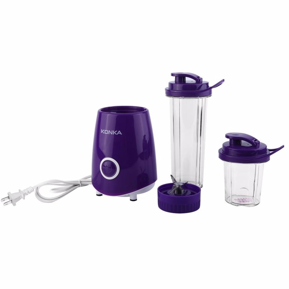 KONKA Electric Juicer Multifunctional Fruit Juice Machine Blender Smoothie Milkshake Maker Household Juice Machine EU Plug
