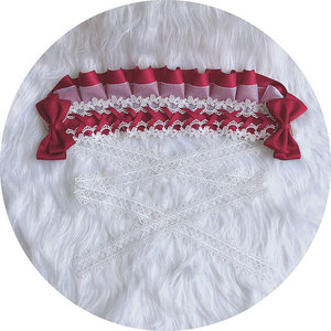 Image 2 - Zoete Handgemaakte Lolita Motorkap Hoofdtooi Lace Hoofddeksel