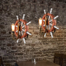 Industrial Style Pendant Lighting Creative Water Pipes Vintage Lamp Features Iron Pendant Lights Cafe Bar Edison Light Fixtures