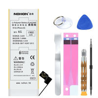 For Apple IPhone 6 6G Original NOHON Brand Lithium Polymer Battery Internal Batteria High Capacity 1960mAh