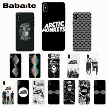 Babaite Arctic Monkeys Newly Arrived Black Cell Phone Case for iPhone X XS XR XSMax 6 6S 7 7plus 8 8Plus Xs 5 5s 5c SE(China)
