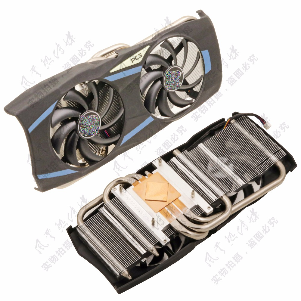 купить New Original for DATALAND R9 280X/R9 280/HD7950/HD7970 Graphics card cooler cooling fan FONSONING