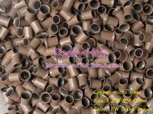 3 2 2 8 4 0mm 11 Light brown 1000pcs copper flared ring easily locks copper