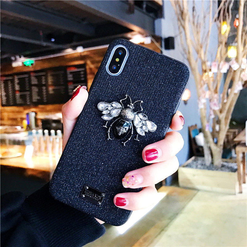 bling bling luxury cute iphone 6 6s 7 8 plus x xr xs max case  (19)
