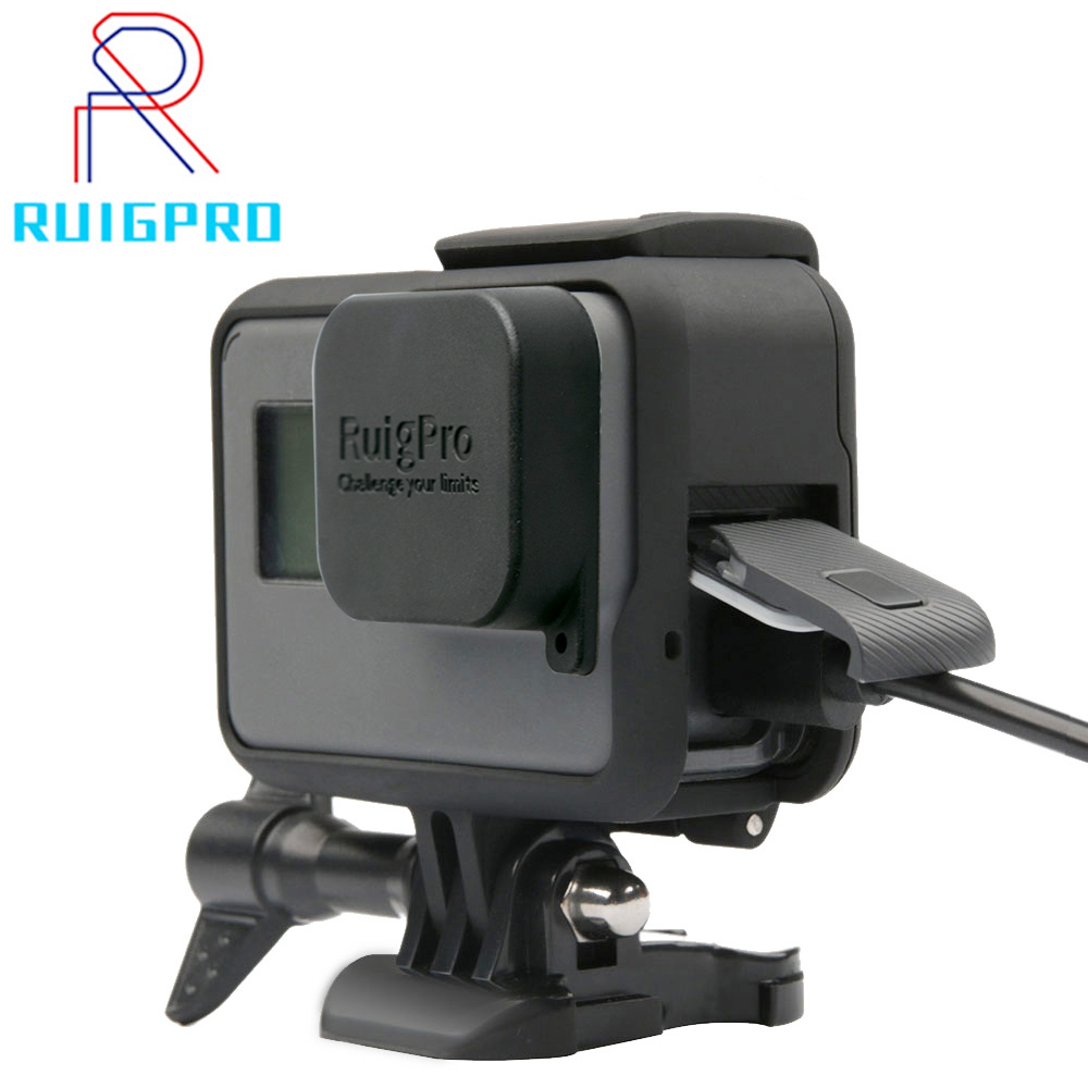 Ruigpro Accessories GoPro Hero 7 6 5 Protective Frame For GoPro Hero5 Action Camera